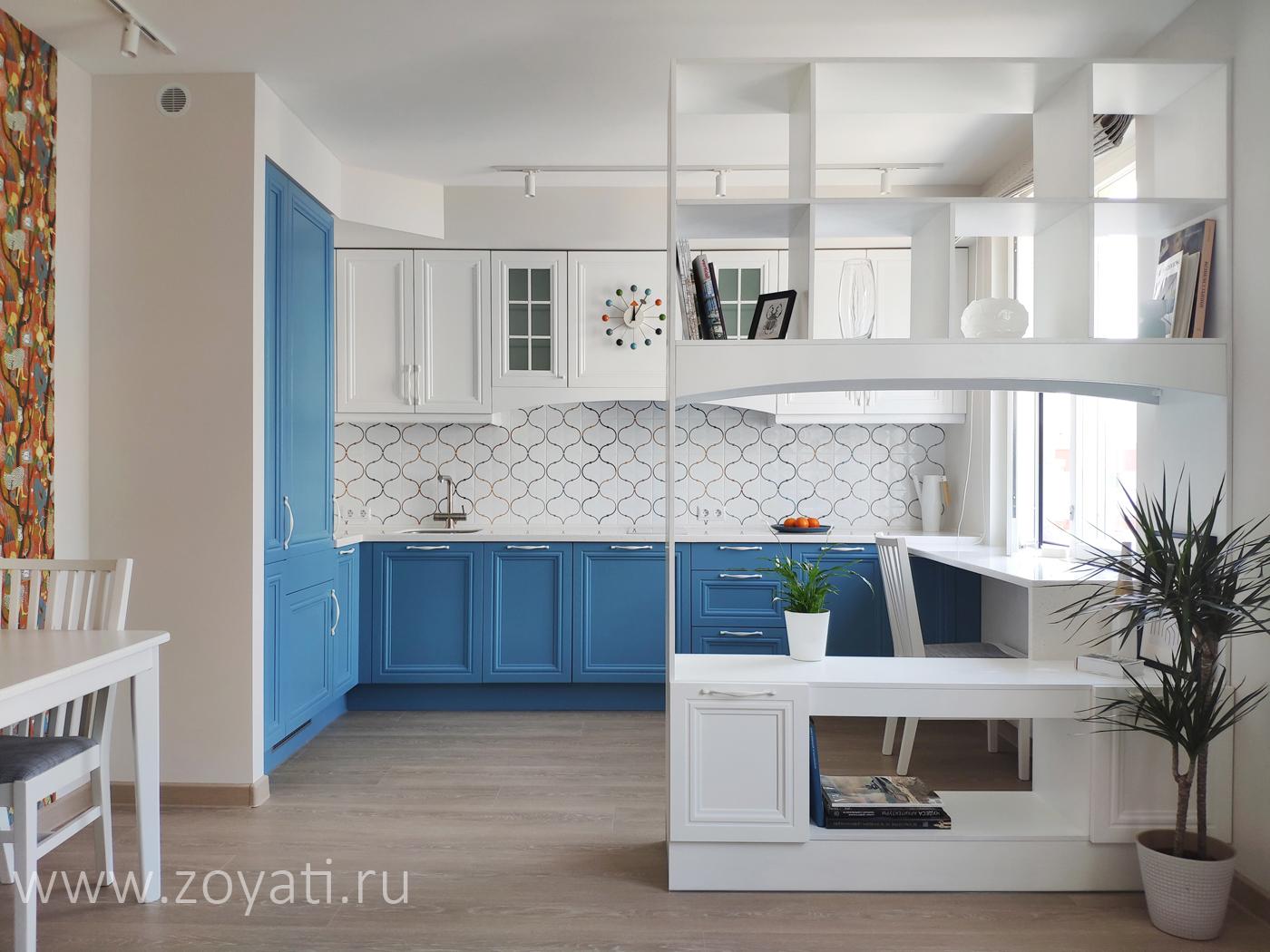 Дизайн-проект квартиры в скандинавском стиле