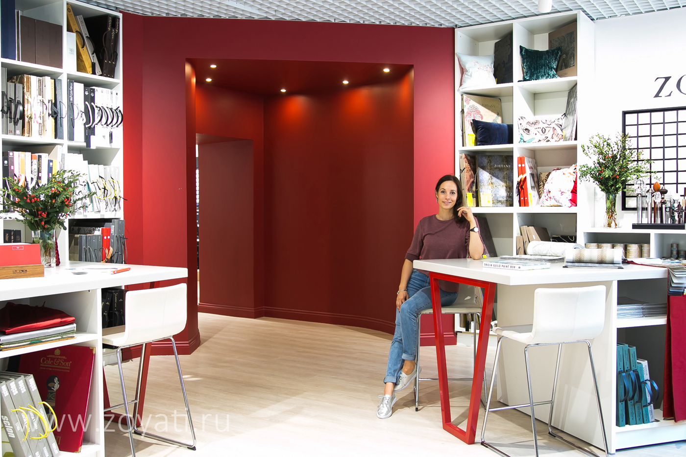 Дизайн магазина Manders Зоя Ти